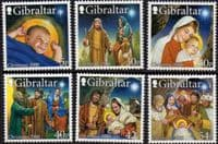 Gibraltar 2000 Christmas Set Fine Mint