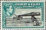 Gilbert and Ellice Islands 1939 SG 51 Cantilever Jetty Fine Mint