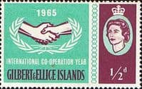 Gilbert and Ellice Islands 1965 International Co-operation Year SG 104 Fine Mint