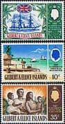 Gilbert and Ellice Islands 1967 Protectorate Set Fine Mint