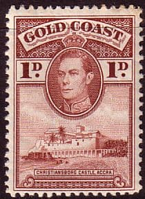 Gold Coast 1938 SG 121a Christianborg Castle Fine Mint