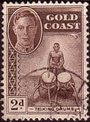 Gold Coast 1948 SG 138 Talking Drums Fine Used