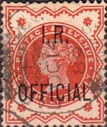 Great Britain 1887 Queen Victoria Inland Revenue Overprint SG O13 Fine Used