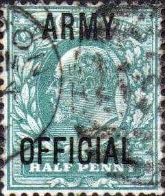 Great Britain 1902 King Edward VII Army Official Overprint SG O48 Fine Used
