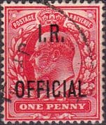 Great Britain 1902 King Edward VII Inland Revenue Overprint SG O21 Fine Used