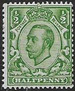 Great Britain 1912 King George V SG 339 Fine Mint