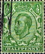 Great Britain 1912 King George V SG 339 Fine Used
