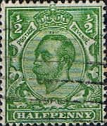 Great Britain 1912 King George V SG 346 Fine Used