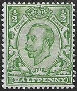 Great Britain 1912 King George V SG 348 Fine Mint