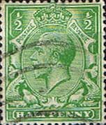 Great Britain 1912 King George V SG 351 Fine Used