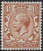 Great Britain 1912 King George V SG 364 Fine Mint