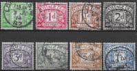 Great Britain 1914 Post Due Set Fine Used