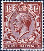 Great Britain 1924 King George V SG 420 Fine Mint