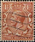 Great Britain 1924 King George V SG 420 Fine Used