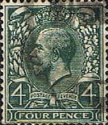 Great Britain 1924 King George V SG 424 Fine Used