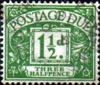 Great Britain 1924 Post Due SG D 12 Fine Used