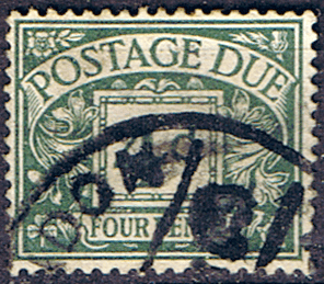 Great Britain 1924 Post Due SG D 15 Fine Used