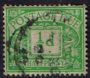 Great Britain 1936 Post Due SG D 19 Fine Used