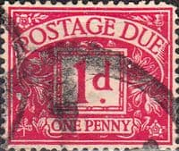 Great Britain 1936 Post Due SG D 20 Fine Used