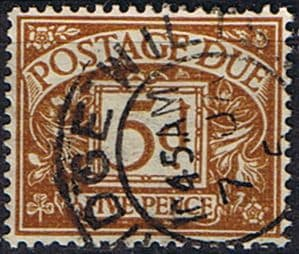 Great Britain 1936 Post Due SG D 24 Fine Used
