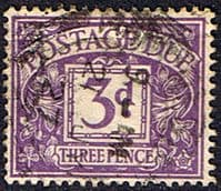 Great Britain 1937 Post Due SG D 30 Fine Used