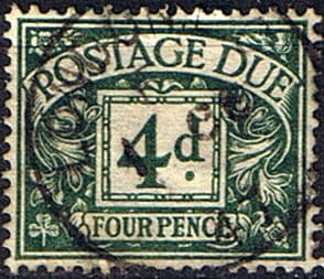 Great Britain 1937 Post Due SG D 31 Fine Used