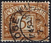 Great Britain 1937 Post Due SG D 32 Fine Used