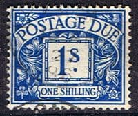 Great Britain 1937 Post Due SG D 33 Fine Used