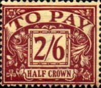 Great Britain 1937 Post Due SG D 34 Fine Used