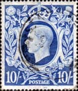Great Britain 1939 King George VI Head High Value SG 478a Fine Used