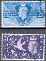 Great Britain 1946 Victory Issue Set Fine Used