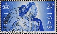 Great Britain 1948 King Royal Silver Wedding SG 493 Fine Used