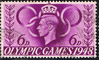 Great Britain 1948 Olympic Games SG 497 Fine Used
