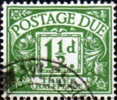 Great Britain 1951 Post Due SG D37 Fine Used