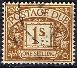 Great Britain 1951 Post Due SG D39 Fine Used