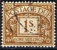Great Britain 1951 Post Due SG D 39 Fine Used