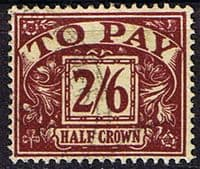 Great Britain 1954 Post Due SG D 45 Fine Used