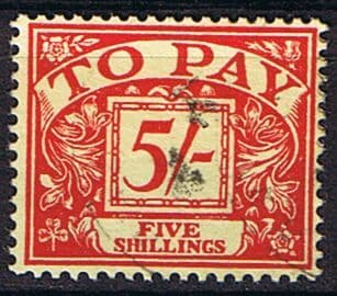 Great Britain 1955 Post Due SG D 55 Fine Used