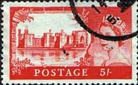 Great Britain 1955 Queen Elizabeth II Definitive Castles SG 537 Fine Used