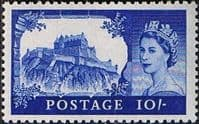 Great Britain 1955 Queen Elizabeth II Definitive Castles SG 538 Fine Mint