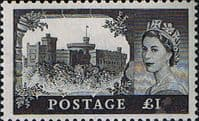 Great Britain 1955 Queen Elizabeth II Definitive Castles SG 539 Fine Mint