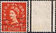 Great Britain 1957 Queen Elizabeth II Definitive Graphite-lined Issue SG 561 Fine Used