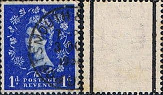 Stamps Great Britain 1955 Queen Elizabeth II Definitive Graphite-lined Issue SG 562 Fine Used Scott 354c