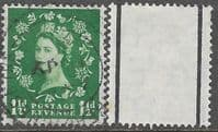 Great Britain 1957 Queen Elizabeth II Definitive Graphite-lined Issue SG 563 Fine Used