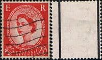 Great Britain 1957 Queen Elizabeth II Definitive Graphite-lined Issue SG 565 Fine Used