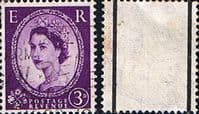 Great Britain 1957 Queen Elizabeth II Definitive Graphite-lined Issue SG 566 Fine Used