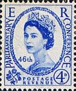 Great Britain 1957 Queen Elizabeth II Inter-Parliamentary Union Conference SG 560 Fine Mint