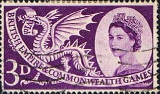 Great Britain 1958 British Empire and Commonwealth Games SG 567 Fine Used