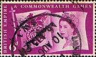 Great Britain 1958 British Empire and Commonwealth Games SG 568 Fine Used