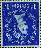 Stamps Great Britain 1955 Queen Elizabeth II Definitive SG 541Wi Fine Used Scott 318 Inverted watermark from Coil